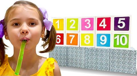 Видео Катя и Макс учат считать до десяти