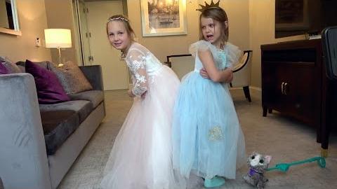 Видео Катя и Вика не могут поделить платья
