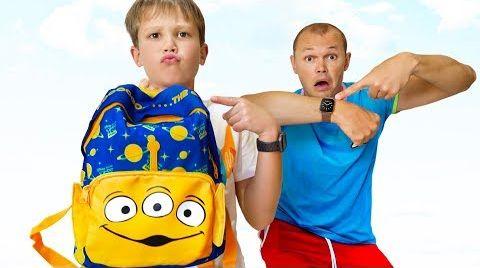 Видео Катя с Максом и Образовательные песенки для детей
