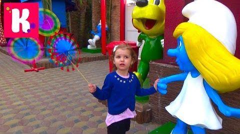Видео Катя в Дубаи День #2 едем в Крик Парк и Глобал Вилледж  / Покупаем игрушки