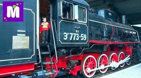 Видео Киев День#1 первая поездка на метро лазим по старым поездам и вагонам VLOG