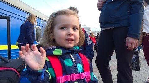 Видео Киев День#7 гуляем в центре/ купим рюкзак Минни Маус/ встретим Миньйона