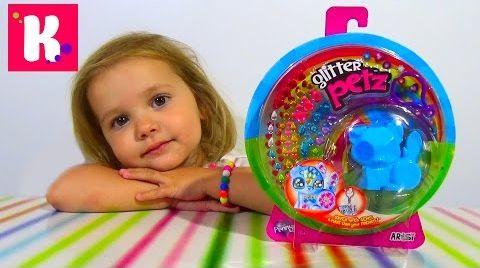 Видео Кошечка с бриллиантами на липучках / распаковка игрушки