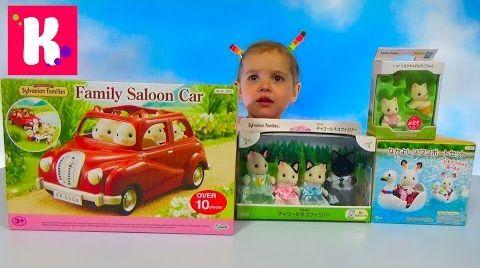 Видео Кошечки Сильваниан Фэмилис / Распаковка машинки/ Обзор игрушек Sylvanian Families