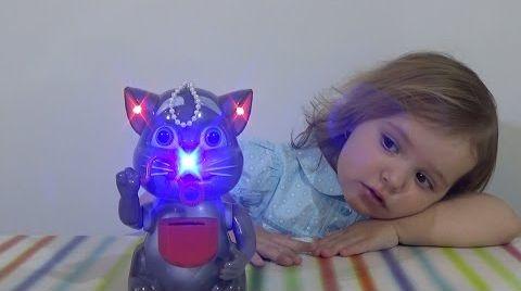 Видео Котик Том пускает пузыри/ обзор игрушки