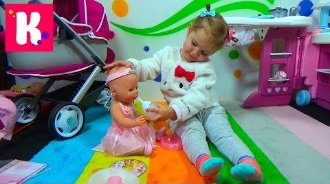 Видео Кукла Беби Бoрн - балерина с аксессуарами / Обзор игрушки / Играем с Baby Born