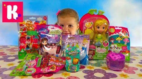Видео Кукла Шарлотта Земляничка и Лимонка / Сюрпризы / Обзор игрушек
