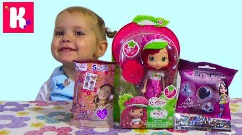 Видео Кукла Шарлотта Земляничка / Сюрпризы / Обзор игрушек