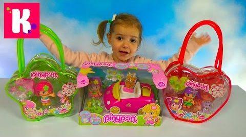 Видео Куклы Пинипон и питомцы / Обзор игрушек Piny Pon