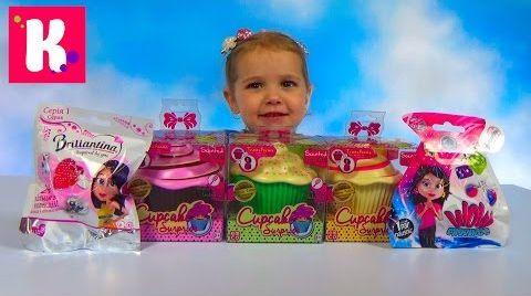 Видео Куклы сюрприз Ароматные капкейки / Обзор игрушек