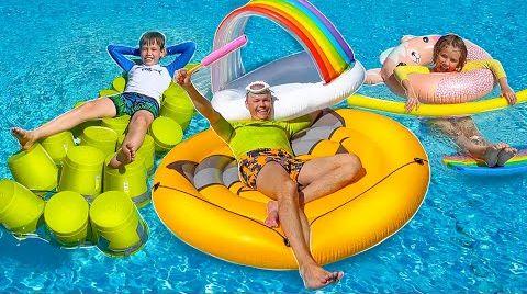 Видео Купи за 1000$ чтобы выжить в бассейне