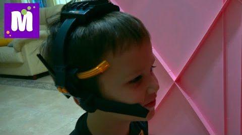 Видео Лазерная сигнализация / Рация шпиона / Обзор игрушки
