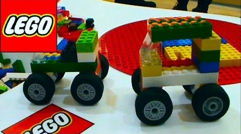 Видео LEGO конструктор машинки монстер трак