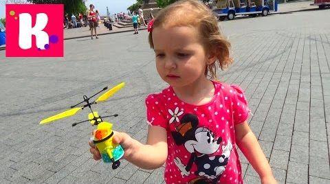 Видео Летающий миньон распаковка игрушки / запускаем