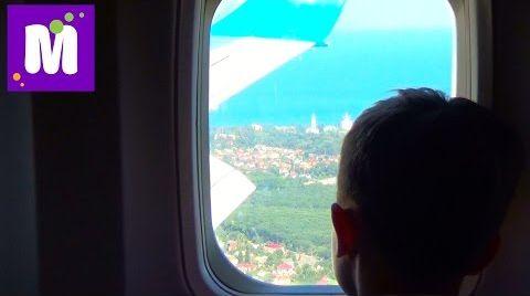 Видео Летим домой в Одессу на самолете гуляем в дьюти фри