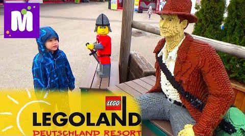 Видео Летим в Леголенд Германия селимся в Лего отель Legoland Feriendorf Germany