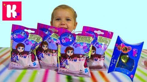 Видео Литлест Пет Шоп/ ЛПС/ пакетики сюрпризы с игрушками/ распаковка LPS