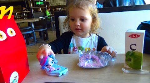 Видео ЛПС игрушки из Хеппи Мил в МакДональдс