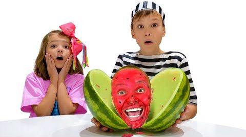 Видео Макс и детские истории про фрукты и слайм