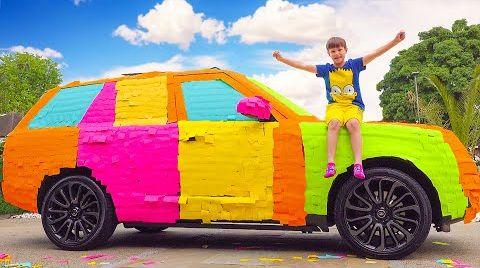 Видео Макс и его машины