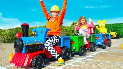 Видео Макс и его Поезд с игровым домиком
