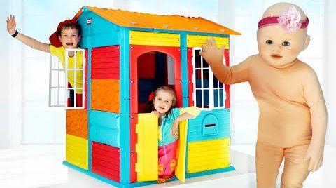 Видео Макс и Катя и их домики
