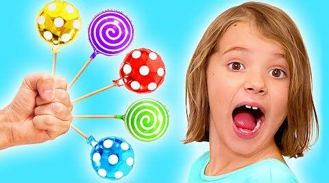 Видео Макс и Катя и их конфеты