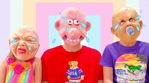 Видео Макс и Катя и их маски