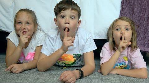Видео Макс и Катя играют в Прятки с друзьями на ДЕНЬГИ