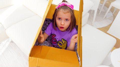 Видео Макс и Катя их история про злую ведьму из коробки
