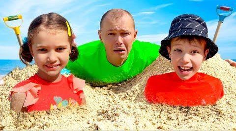 Видео Макс и Катя отправились с солнечного пляжа на снег