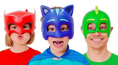 Видео Макс и смешные истории про маски