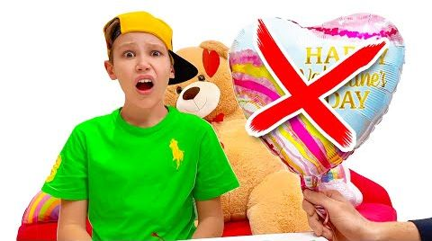 Видео Макс не получил валентинку на день Св. Валентина