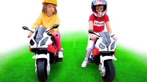 Видео Макс с Катей и их мотоциклы