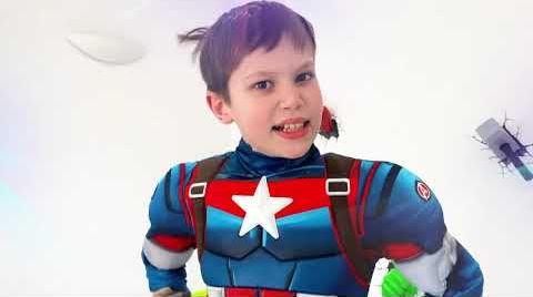 Видео Макс устроил вечеринку для Супер Героев