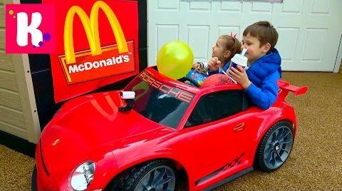 Видео McDonalds не продал Кате Happy Meal на МакДрайв/ Задание на ВНИМАНИЕ
