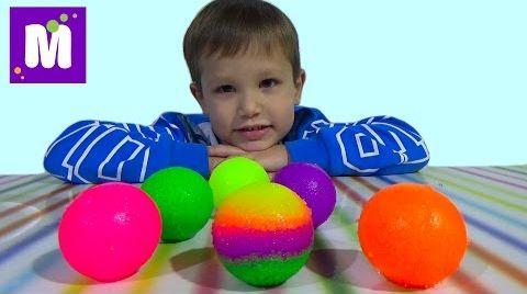 Видео Мэд леб попрыгунчики набор делать мячики самим Mad Lab