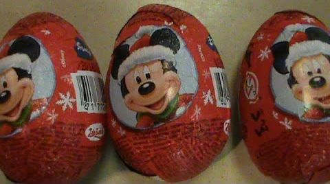 Видео Микки Маус  сюрприз с игрушками Mickey Mouse