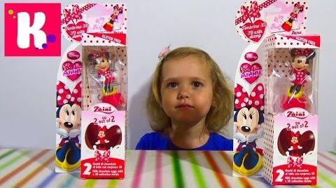 Видео Минни Маус / распаковка игрушек
