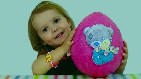 Видео Мишка Татти Тедди яйцо сюрприз/ Tatty Teddy/ обзор игрушек