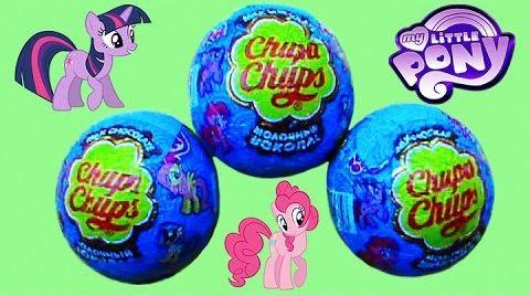 Видео Мои маленькие Пони Чупа Чупс шары / обзор игрушек