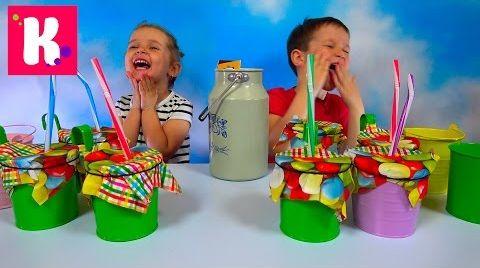 Видео Молочный Челлендж угадываем вкус растительное молоко и коровье