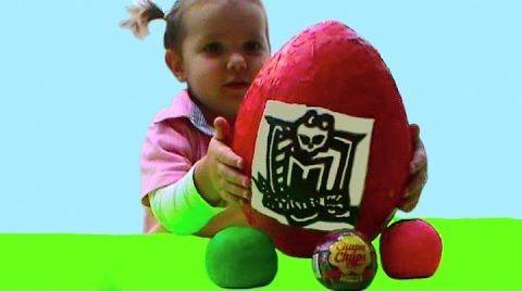 Видео Монстер Хай яйца и шары c сюрпризом / обзор игрушек