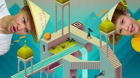 Видео Monument Valley - очень мудреная и залипательная игра с иллюзиями