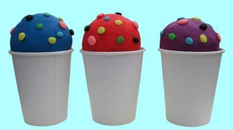 Видео Мороженое с сюрпризом Play-doh