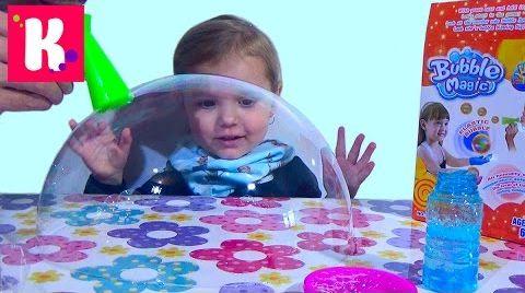 Видео Мыльные пузыри Magic bubbles / Обзор игрушки