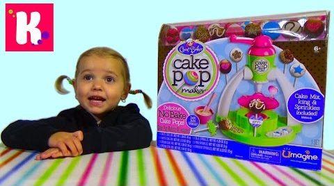 Видео Набор для приготовления печенек на палочке Cake pop maker
