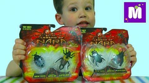 Видео Нано - жуки распаковка игрушки Nano