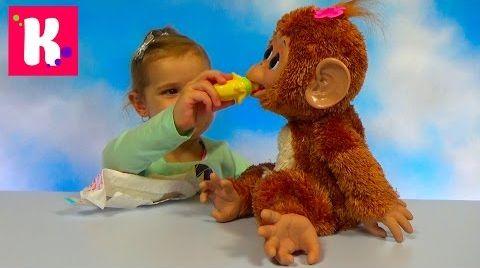 Видео Обезьянка Fur Real Friends / Обзор игрушки