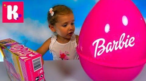 Видео Обзор игрушек Barbie